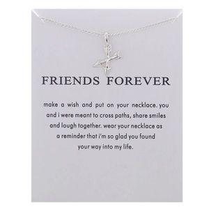 Jewelry - 4 for $25 Dainty boho friend crossed arrow chain